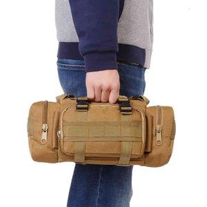 Wholesale-Outlife Multifunctional Outdoor Single Shoulder Bag Tactical Waist Bag Molle Pack Rucksack for Hiking Camping Trekking
