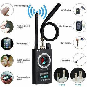 Multifunction Detector Mini Audio Camera GSM Finder GPS Signal Lens RF Locator Tracker Detection Wireless Anti-Lost Alarm