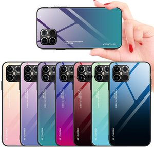 Cell Tempered Glass Case X Xs 7 8 6S Plus Fundas Gradient Cove For Phone 12 Pro Max Xr 12Promax 11 Cases Fpghv Olfls