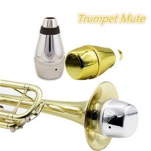 Trumpet Mute Silencer Practice Light-weight Brass Music Instrument Accessories