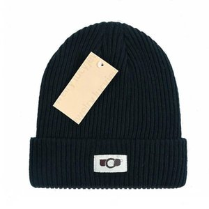 Designer Beanie Knit Cap Leisure Caps Fashion Winter Cold-resistant Hairball Warm Hats Breathable Skullcaps 8 Color Top Quality