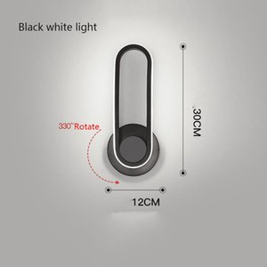 Modern Iron Wall Lamps LED Lights Strips 10W Rotatable Sconce Lamp AC85~265V Bar Indoor Lighting Bedroom Bathroom Living Room Stair Bedside Dining Home Decoration