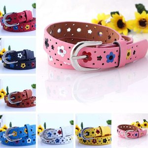 Hollow Flowers Children Belt Boys and girls Brand Learn Adjustable straps Women waistband2KKD