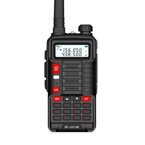 Walkie Talkie Professional Handheld 10W Dual Band Two Way Radio Rechargeable