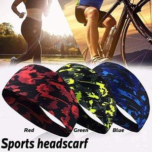 Unisex Sweat Wicking Hair Bands For Sports Fitness Yoga Running Elastic HeadBand