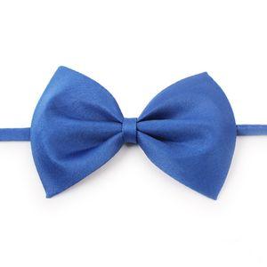 Pet tie Dog tie collar bow flower accessories decoration Supplies Pure color bowknot necktie DHL 582 R2