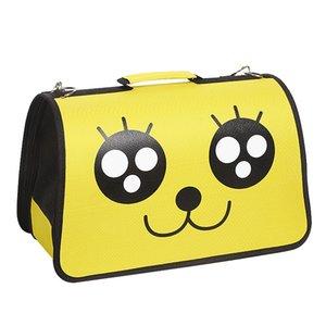 Portable pet cat cute expression Oxford cloth pet handbag small portable factory direct sale