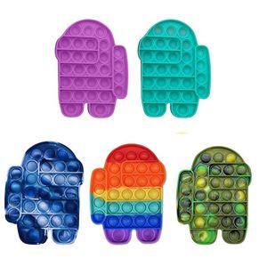 POP IT Fidge Toy Sensosory Push Bubble Fidget Sensory Toy Autism Особые нуждается в тревожном напряжении для студентов офисных работников