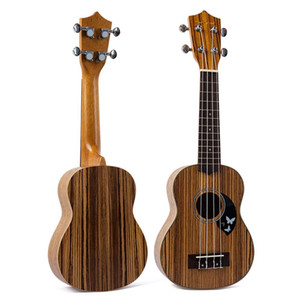 21 Inch 4 Strings Laminated Wood Ukulele Small Guitar Music Toy Acoustic Instrument Kids Gift