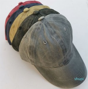 fashion casual new washed cotton baseball cap ponytail cap with a hole cap for men and women WCW522