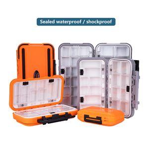 Large Capacity Fishing Box Grid Fishing Gear Accessories Waterproof sub-Box Fishing Hook Box High Strength Tackle Box
