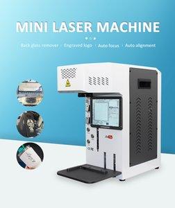 Conjunto completo LCD tampa traseira vidro laser máquina de ferramentas separadas para iphone x xs max 11 pro gravura logotipo marcando ferramenta