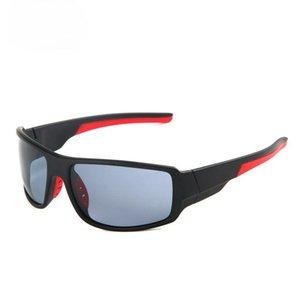 Farbfilm Polarisierte Männer Sonnenbrille der Männer professionelle Sportbrille Gafas Hombre-Markenbrille UV400 für Männer