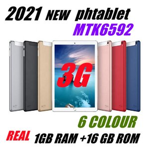 2021 10.1 Inch Tablets Android 8.0 3G Phone Call 4GB RAM 64GB ROM Quad Core WiFi Bluetooth GPS Dual SIM Tablet PC with Retail packaging