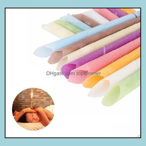 Supply & Beautyhigh Quality Aromatherapy Indian Theraphy Candle Health Care Beauty Product Et Cone Ear Candles 1000Pcs Wholesale Drop Delive