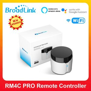 BroadLink RM4C Pro Con WIFI RF Remote Controller Infrared Receiver Timer Smart Home Work With Amazon Alexa Google Assistant Controlers