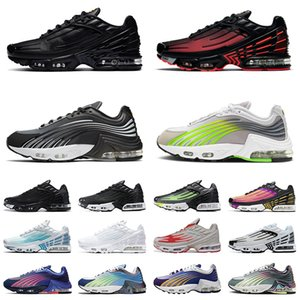 Nike Air Max TN Plus 3 Airmax 2 Tuned Hombres Mujeres Zapatos para correr Radiant Red Laser Blue Triple Black All White Tiger Red Rainbow Zapatillas deportivas Zapatillas