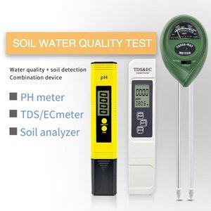Metri Detector del terreno Set PH Acidimeter TDS Test CE Test Giardinaggio Piantare l'umidità dell'umidità dell'umidità Monitor