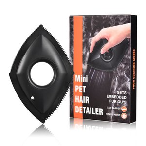 Professional Mini Pet Hair Detailer Dog Cat Remover Brush for Cleaning Carpets, Sofas, Home Furnishings and Car Interiors