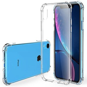 1.5mm cases Thicken Four-corner anti-fall airbag Phone For 12 11 Pro iPhone xr xs max 7 8 P SAMSUNG note20 S20 ultra Plus