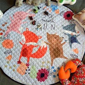 Carpets Kids Room Rugs Multifunction Baby Play Game Mats Developing Crawling Carpet Toys Storage Bag Bedroom Children