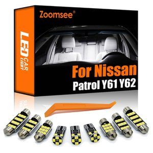 Zoomsee Interior LED For Y61 Y62 2000-2021 Canbus Vehicle Bulb Indoor Dome Map Reading Trunk Light Auto Lamp Kit Emergency Lig Lights