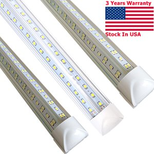 T8 4ft LED Light Tube - 72W Fluorescent lighting Replacement, 7200 lumens, cold white lamp