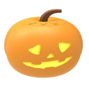 Puloux pumpkin animation projection light with USB charging Type-C port, LED ambient light