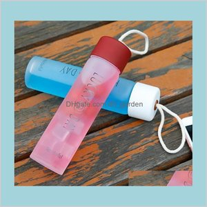 Drinkware Kitchen Dining Bar Home Garden Tumbler Mug Water Bottles Adult Outdoors Sport Fitness Color Glass Space Cup Easy To Carry An