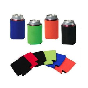 Other Kitchen Tools Wholesale Many Colors Blank Neoprene Foldable Stubby Holders Beer Cooler Bags For Wine Food Cans Cover Grpkr Umay3
