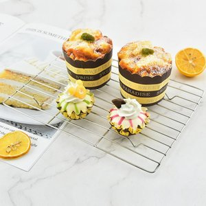 Other Bakeware Kitchen Non-stick Cold Drying Net Quick Cooling Rack Cake Bread Mousse Mold Baking Tools Accessories