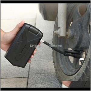 Pumps Accessories Sports & Outdoors Drop Delivery 2021 Electric Air Pump Portable Mini Tires Inflator Compresor Bike Bicycle Cycling Motorcyc