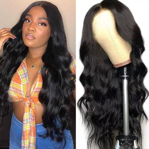4X4 Lace Front Wigs 150% Brazilian Virgin Human Hair 8-34inch Pre Plucked Body Wave Straight Kinky Curly Water Wave Lace Front Wigs
