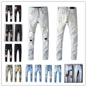 2021 Fashion Skinny mens Jeans Straight slim elastic jean Men Casual Biker Male Stretch Denim Trouser Classic Pants jeans amir i size 28-40
