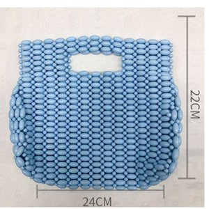 Handmade Women Pearl Bags Designer Beaded Shoulder Bags Female Charm Pearls Crossbody Bag Luxury Evening Clutch Purse Lady 2021 C0508