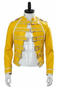 Queen Lead Vocals Freddie Mercury Cosplay Wembley On Stage Costume Jacket