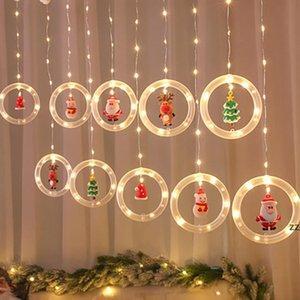LED Holiday party Light Christmas Decoration Lamp Room Decor Garland New Year String star Lights Santa HWE9987