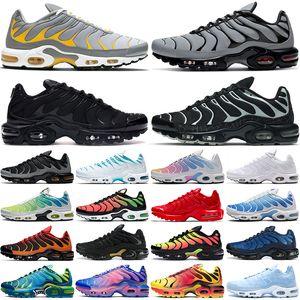 fashion tn plus running shoes men women Spider Web Black Aqua Silver Grey Yellow Red Green Batman Greedy tns mens womens trainers sports sneakers