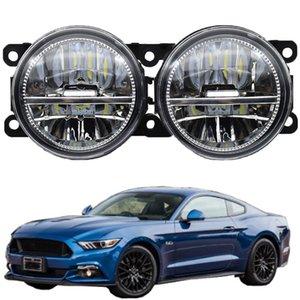 2pcs For Ford Mustang 2009-2012 Car Fog Lamp Assembly 12V LED Fog Light