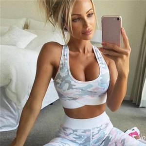 Womens Tracksuits 2 pcs set Yoga Suit Sports Bra and Leggings Wear for Women Gym Clothing Athletic Fitness Tracksuit