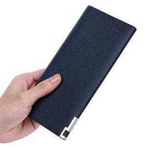 محافظ Williampolo الفاخرة طويل محفظة الرجال سامسونج 100٪ حامل بطاقة جلدية bifold سليم المال كليب مخلب حقيبة الذكور محفظة الحد الأدنى