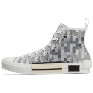 2021 طبعة محدودة مخصصة المطبوعة قماش الأحذية المطبوعة أحذية رياضية تنوعا عالية أعلى مع مربع الأحذية التعبئة الأصلي حجم 35-45