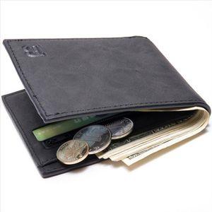 Мини тонкие кошельки кошельки для мужчин с монетой карманный маленький тонкий мужской держатель автомобиля кошельки компактные деньги мальчика