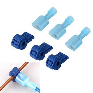 500Pcs Electrical Cable Connectors Lighting Accessories Snap Splice Lock Wire Terminals Crimp Wires Connector Waterproof Electric Connection