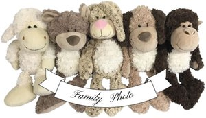 Stuffed Animal - Sheep - Great for Sheep Theme Nursery Decor - Cute Fluffy White Sheep for Your Little Lamb