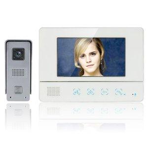 Inch TFT Touch Screen Color Video Door Phone CMOS Night Version Doorbell Camera Intercom System Phones