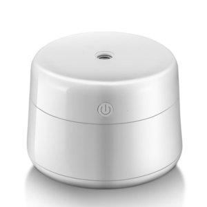 Mini Máquina de aromaterapia USB Inicio Color Sólido Silencio Supply Ultrasonónico Instrumento de Agua Instrumento Girl 220ml Humidificador de Aire Humidificador White 19ly M2