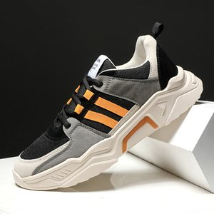 Top Quality 2021 Arrival Men Women Sports Running Shoes Green Brown Orange Outdoor Fashion Dad Shoe Trainers Sneakers SIZE 39-44 WY09-9030