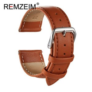 Leather Watch Accessories 16mm 18mm 20mm 22mm 24mm Universal Strap Black Brown 5 Colors Available Watchband Bands