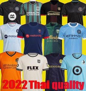 Los Angeles Montreal La Lafc Futbol Formaları Galaxy Inter Minnesota Miami 2021 2022 Atlanta Birleşik York Nashville City FC Futbol Gömlek